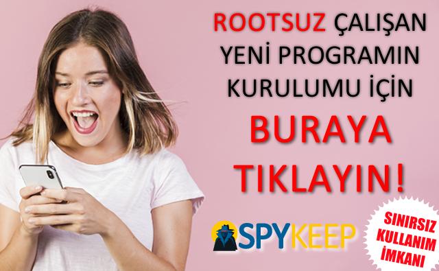 Rootsuz Yeni Program SPYKeep